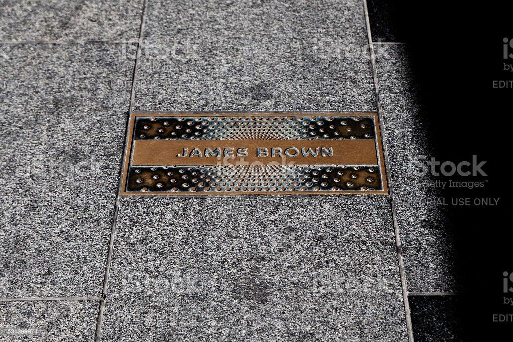 James Brown stock photo