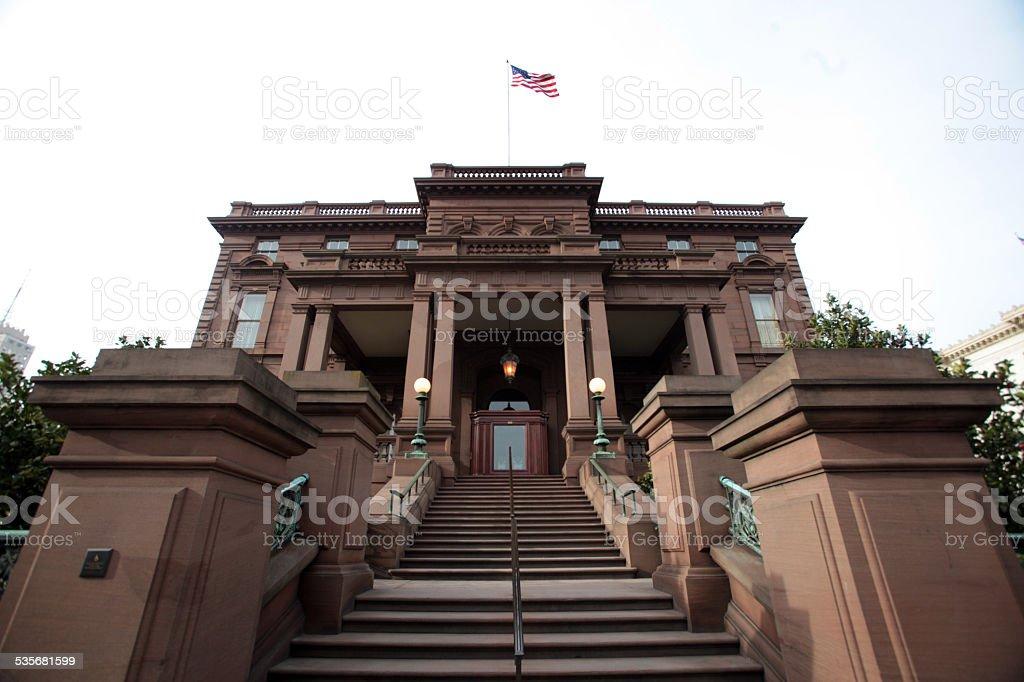 James Clair Flood Mansion, Nob Hill, San Francisco stock photo
