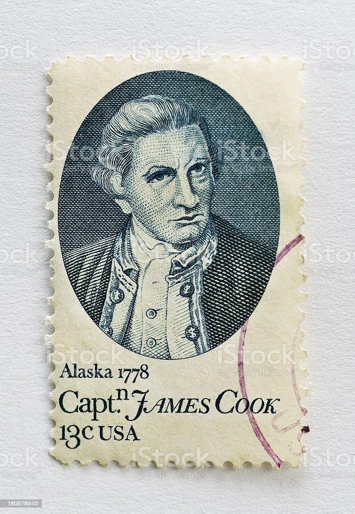 James Cook stock photo