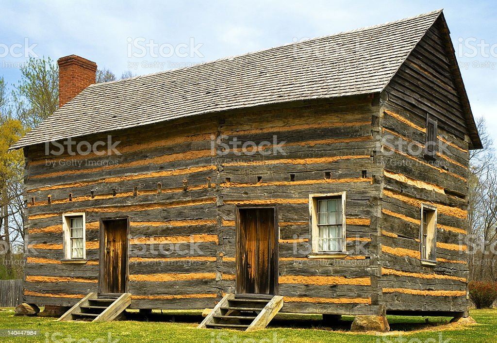 James K. Polk Birthplace stock photo