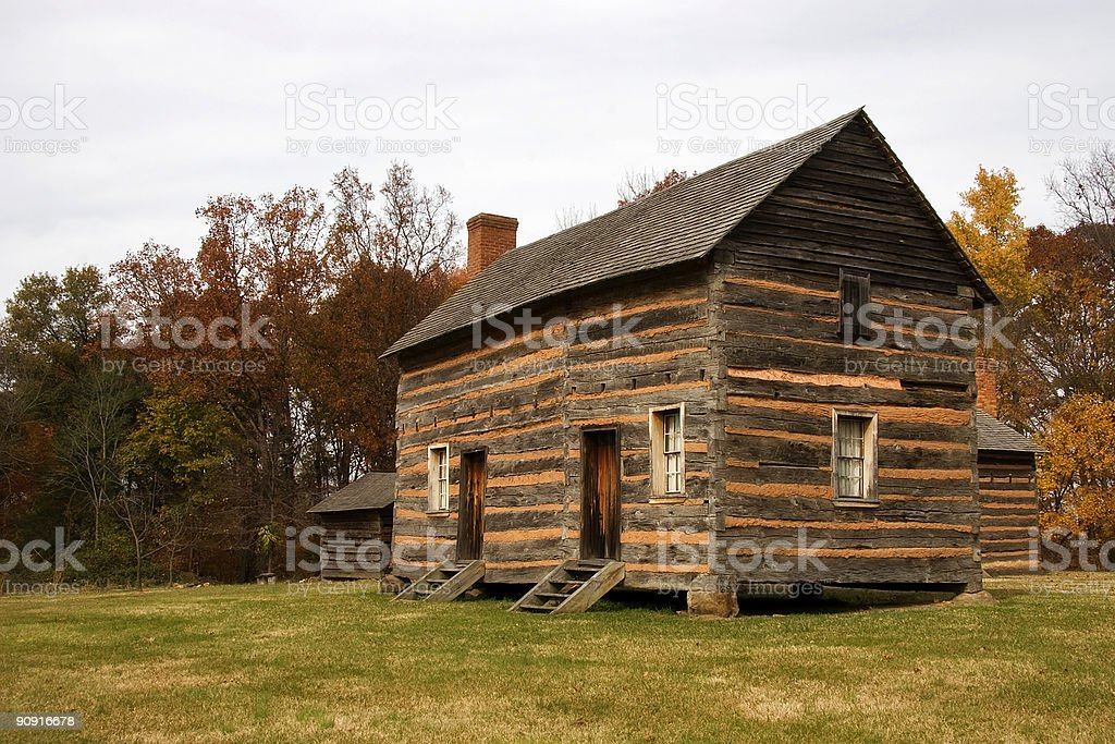 James K Polk Birthplace stock photo