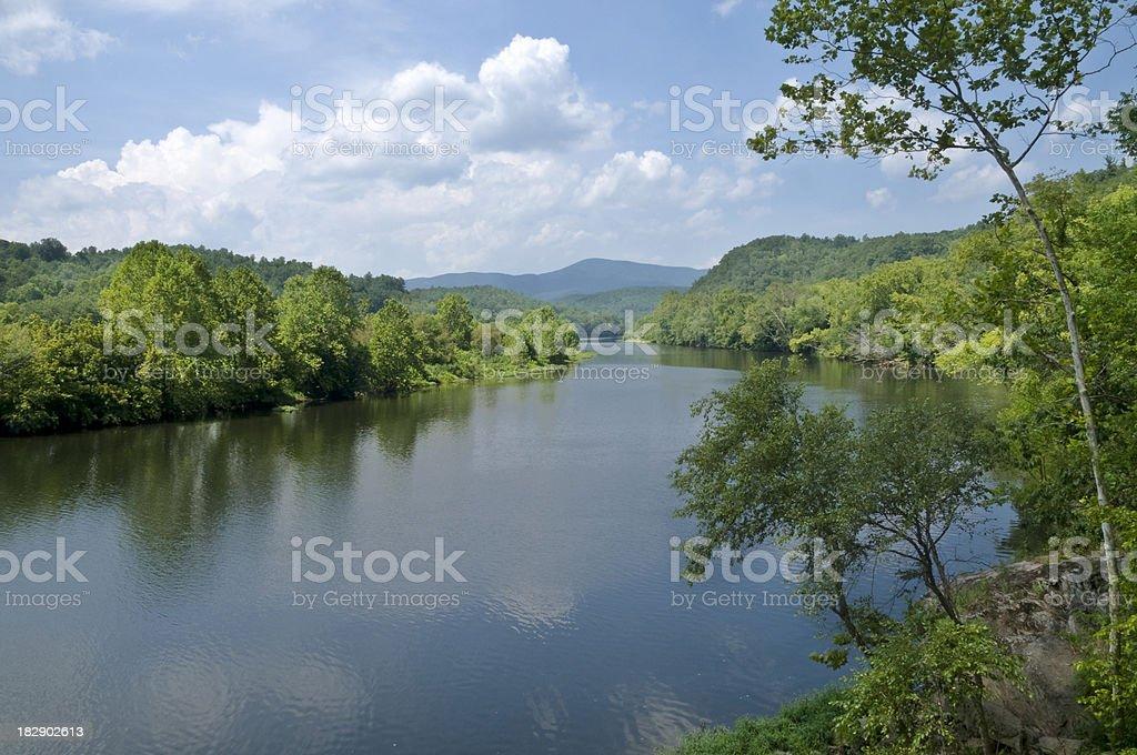 James River royalty-free stock photo