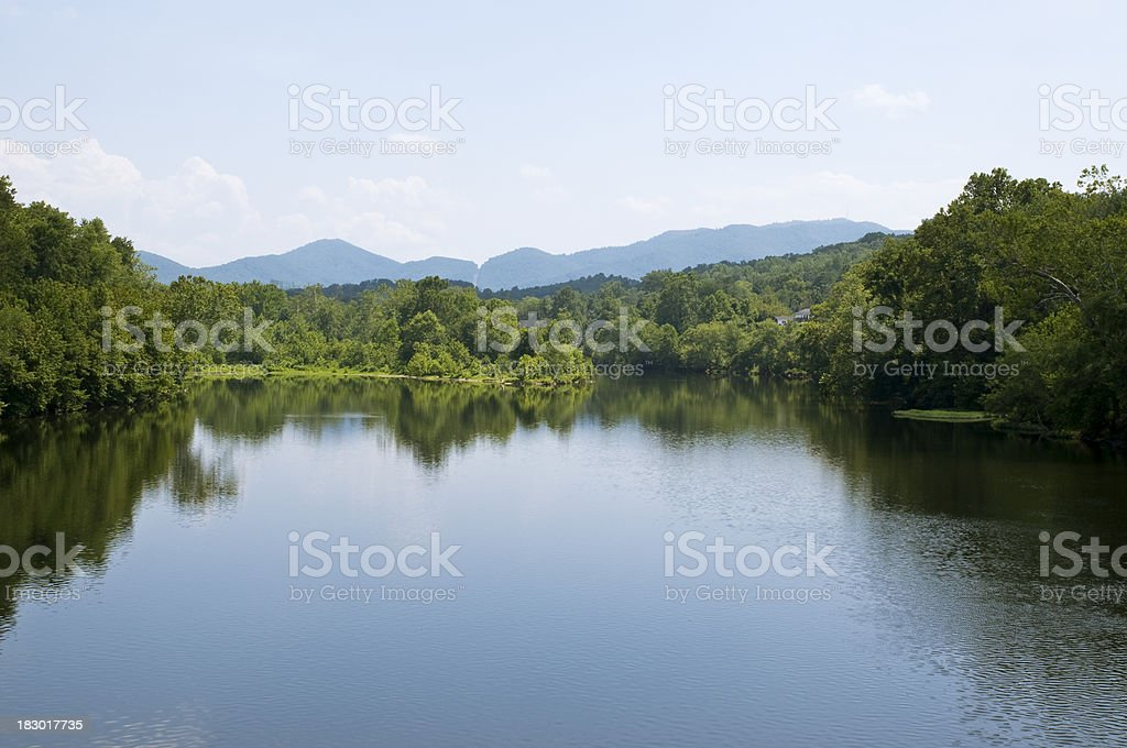 James River royalty-free stock photo