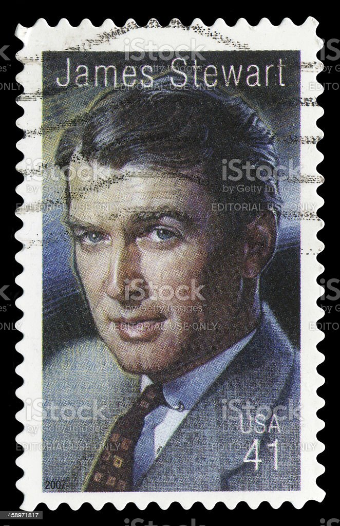 James Stewart stock photo