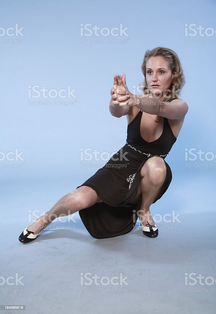 JamesBond's girl royalty-free stock photo