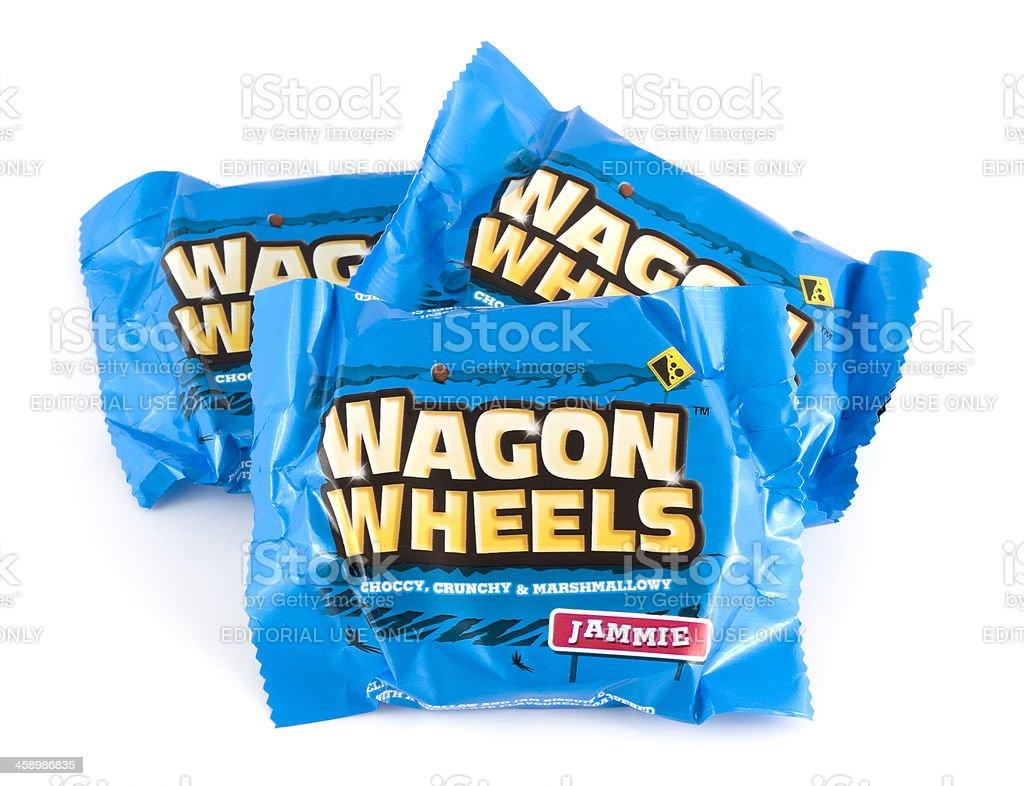 Jammie Wagon Wheels royalty-free stock photo