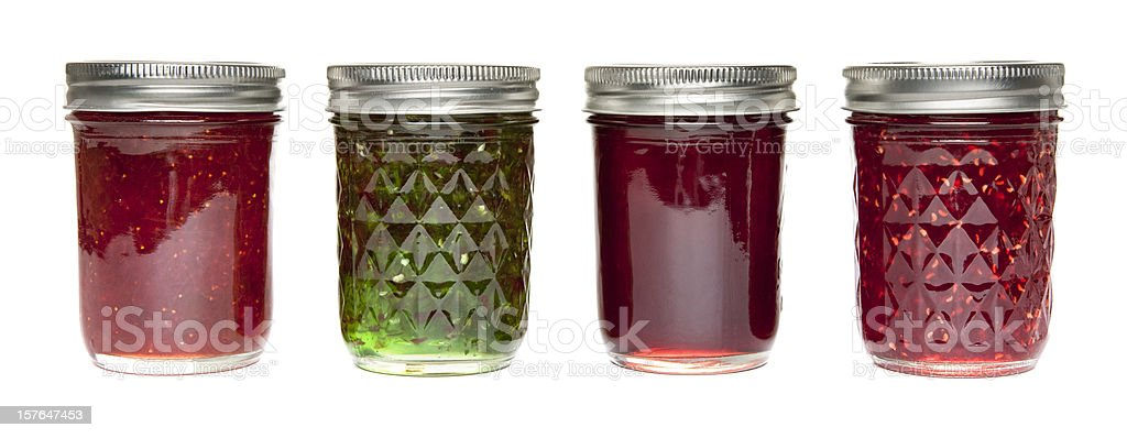 Jams and Jellies royalty-free stock photo