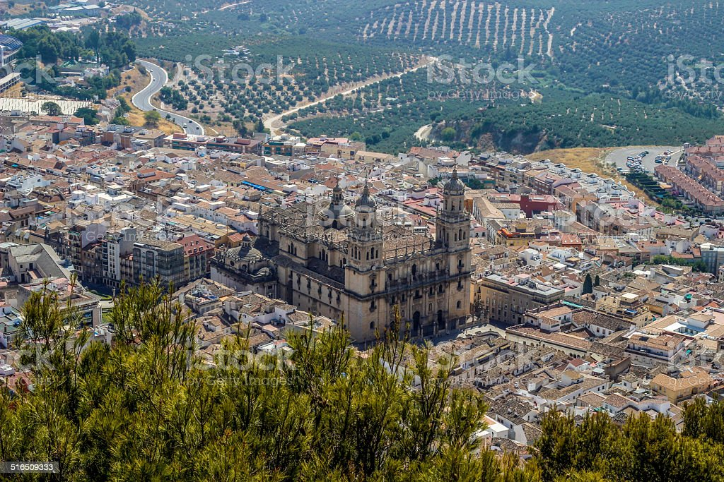 Ja?n Cathedral, Andalusia,Spain royalty-free stock photo