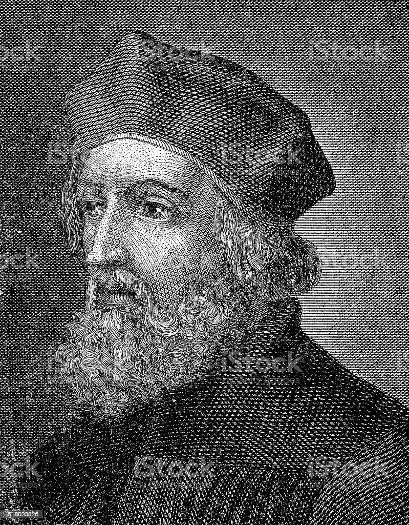 Jan Hus - Christian Church Reformer stock photo