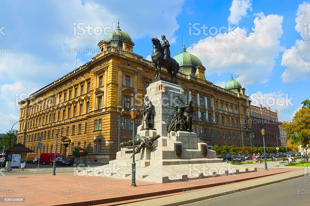 Jan Mateiko Square stock photo