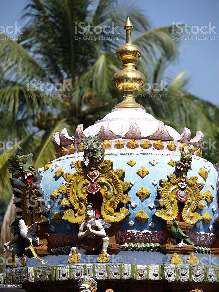 Janardhana Swamy Temple,Kerala,India. stock photo