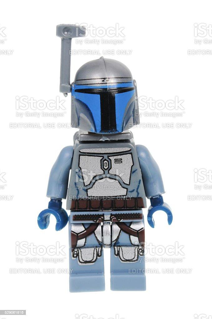 Jango Fett Minifigure stock photo