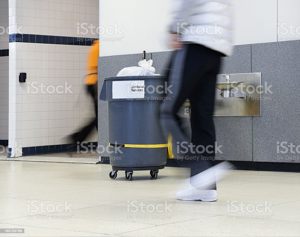 Janitorial sevices royalty-free stock photo