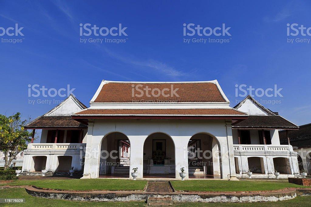 Jankaserm History building royalty-free stock photo