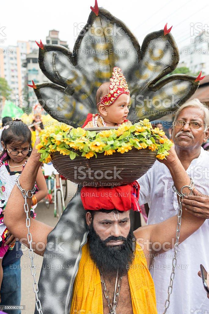 Janmashtami stock photo