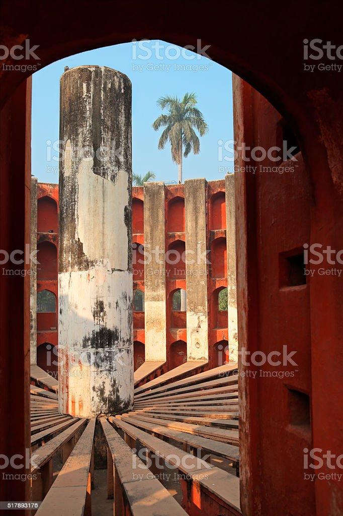 Jantar Mantar - India stock photo