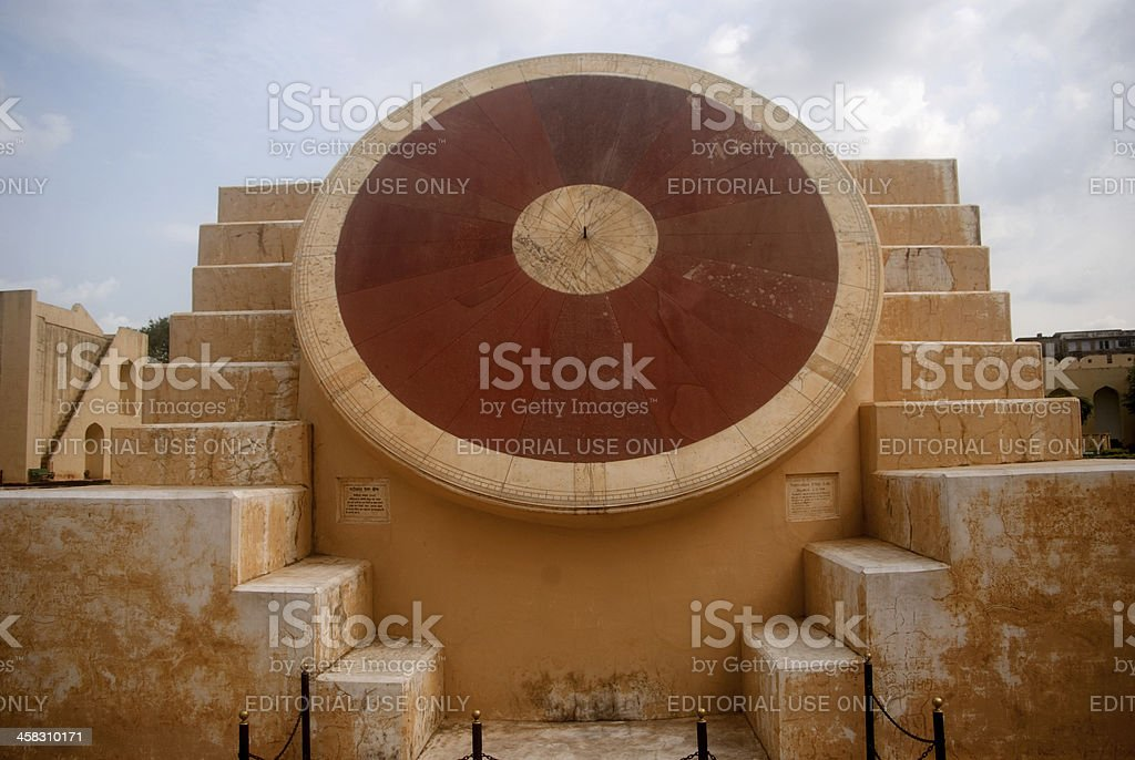 Jantar Mantar, Jaipur, Rajasthan, India royalty-free stock photo