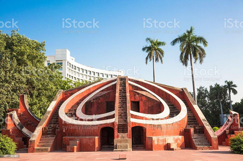 Jantar Mantar, New Delhi, India - CNGLTRV1109 stock photo