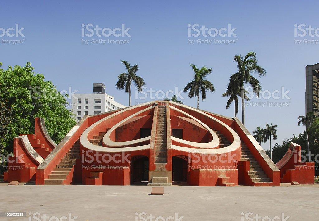 Jantar Mantar observatory royalty-free stock photo