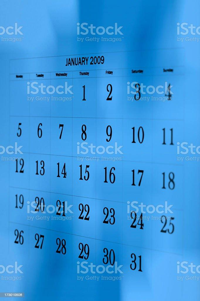 January royalty-free stock photo