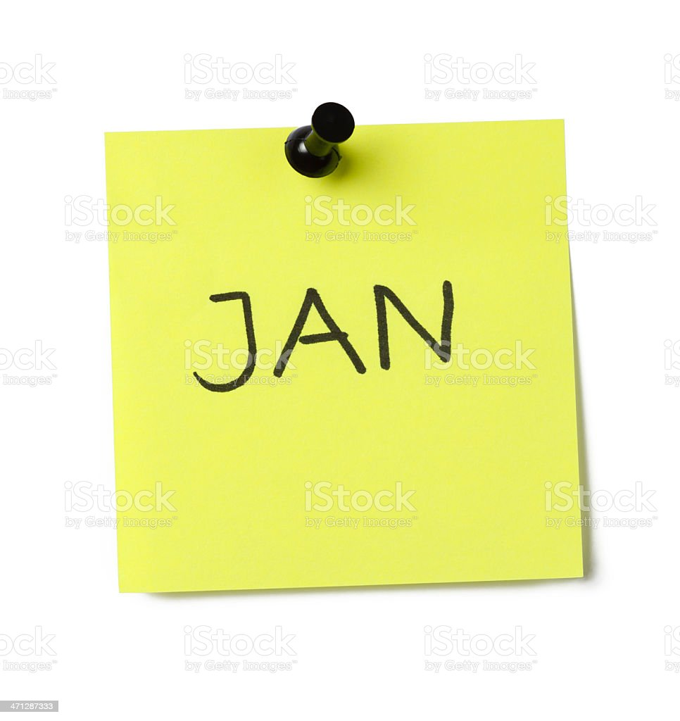 January stock photo