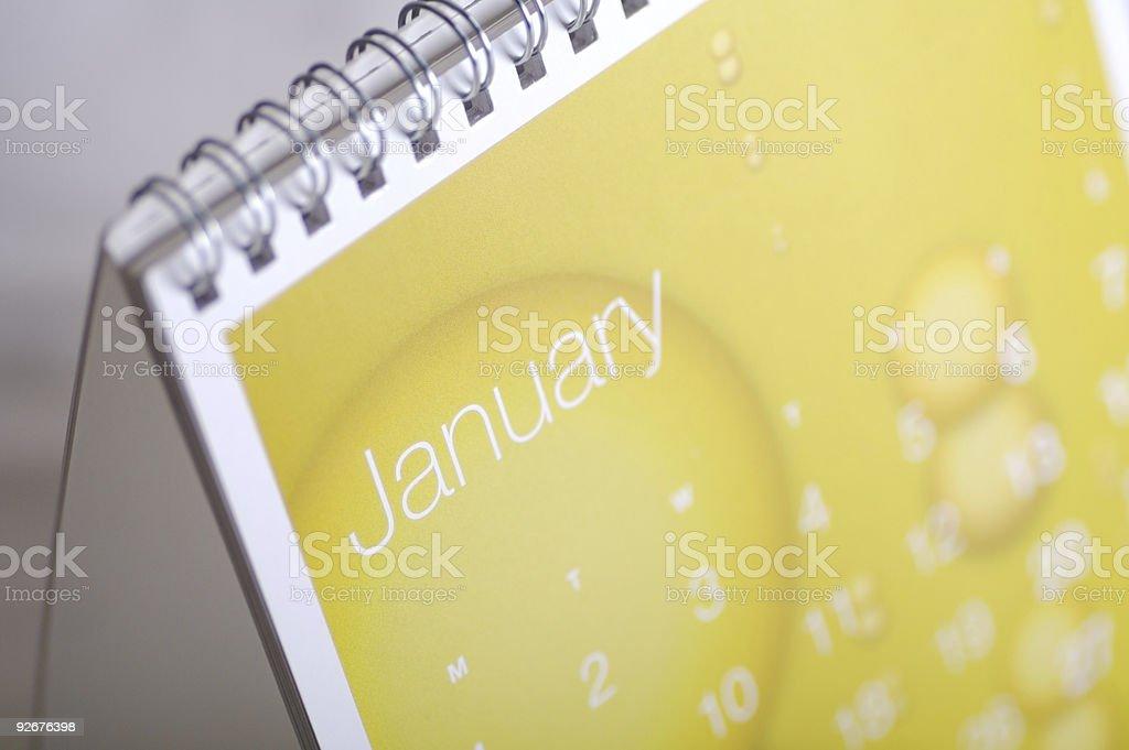 January Up Close... royalty-free stock photo