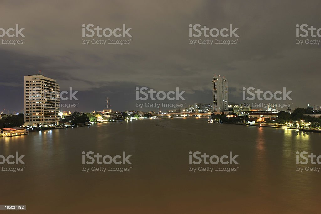 Jaophaya River royalty-free stock photo