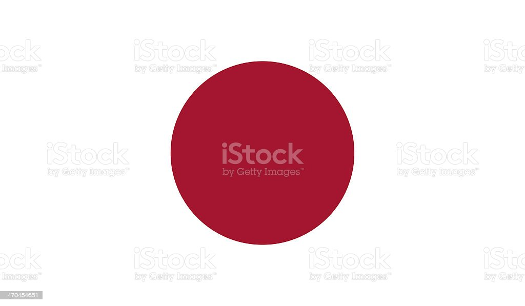 Japan Flag stock photo
