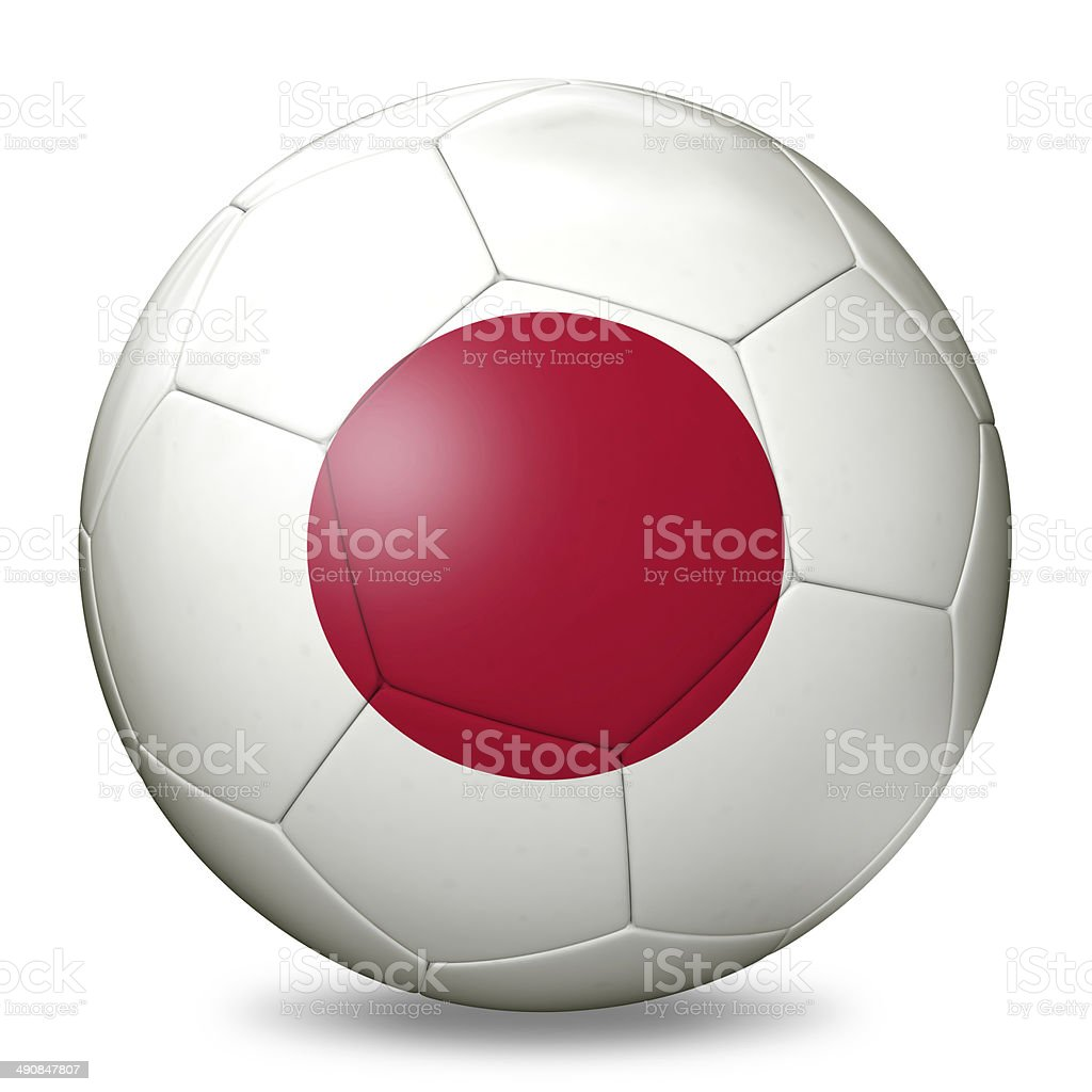 Japan Football royalty-free stock photo