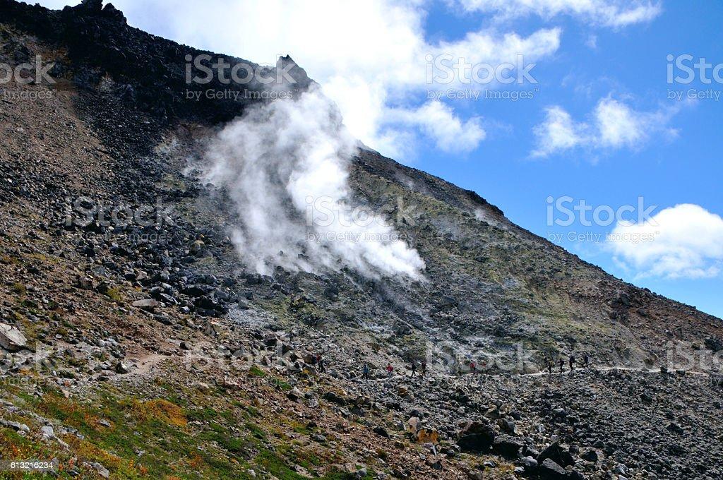 Japan, Mt Chausu stock photo