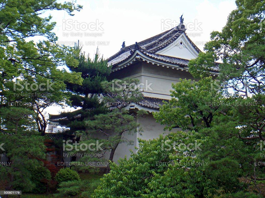 Japan: Nij? Castle in Kyoto stock photo