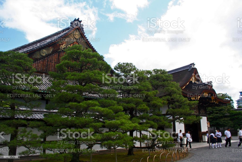 Japan: Ninomaru Palace at Nijō Castle in Kyoto stock photo