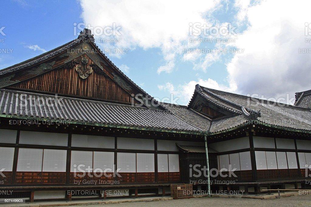 Japan: Ninomaru Palace at Nij? Castle in Kyoto stock photo