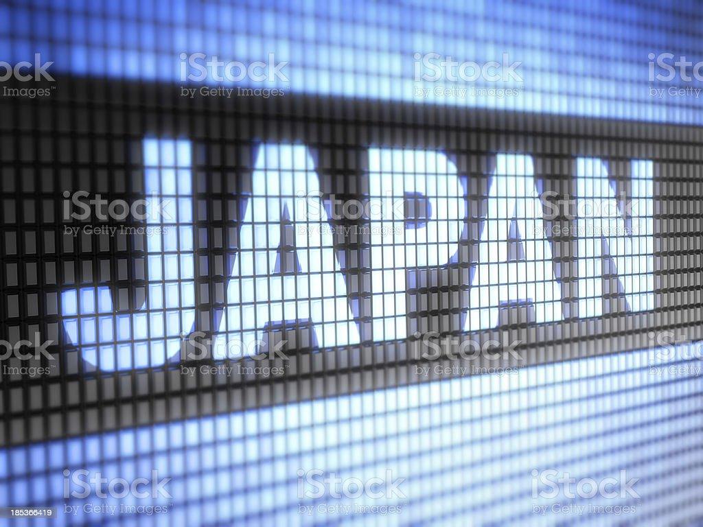 Japan royalty-free stock photo