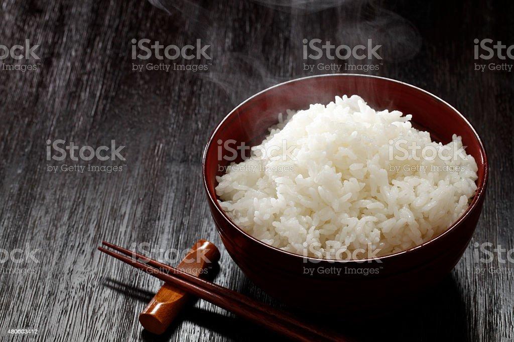 Japan rice stock photo