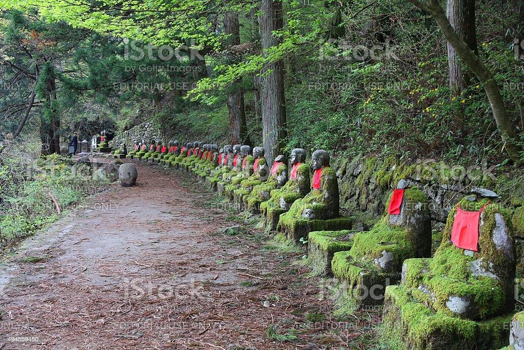 Japan trail stock photo