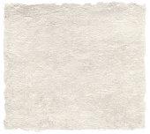 Japanese artistic washi paper isolated on white