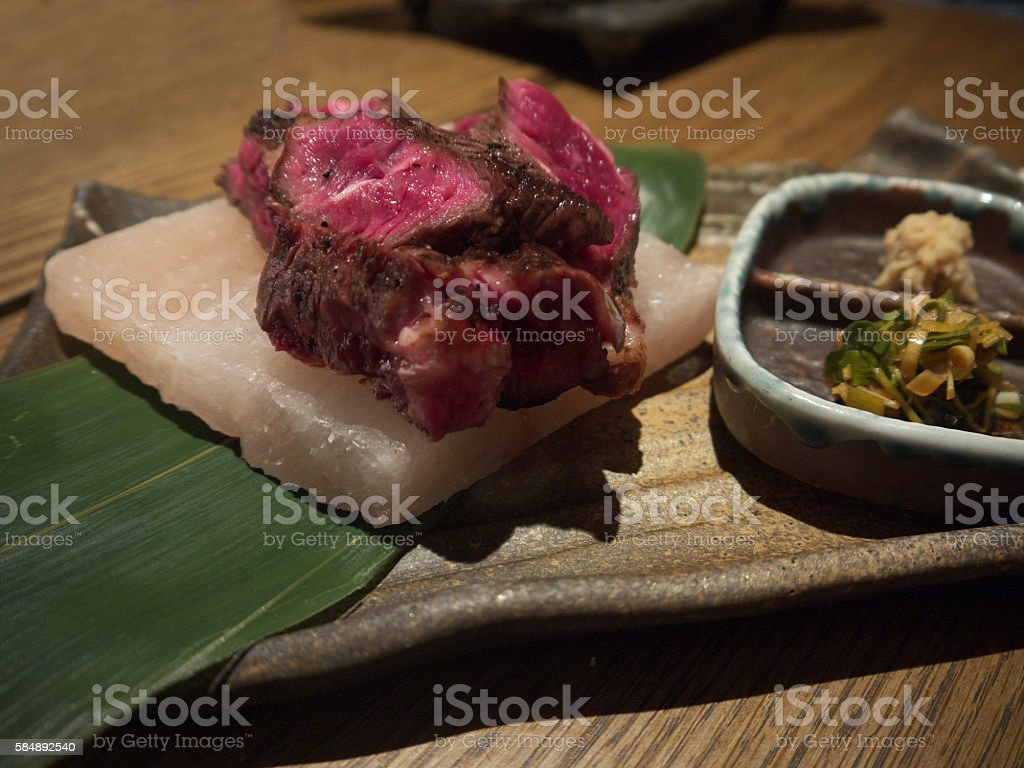 Japanese beef stock photo