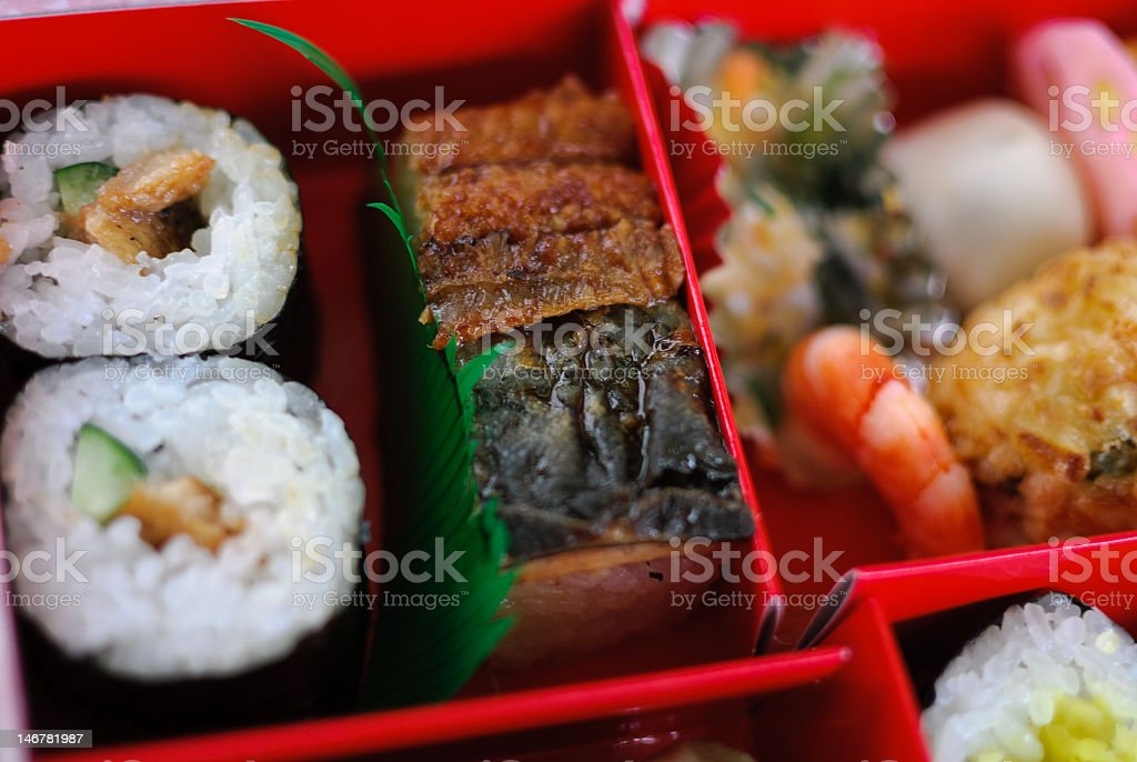 Japanese Bento Box stock photo