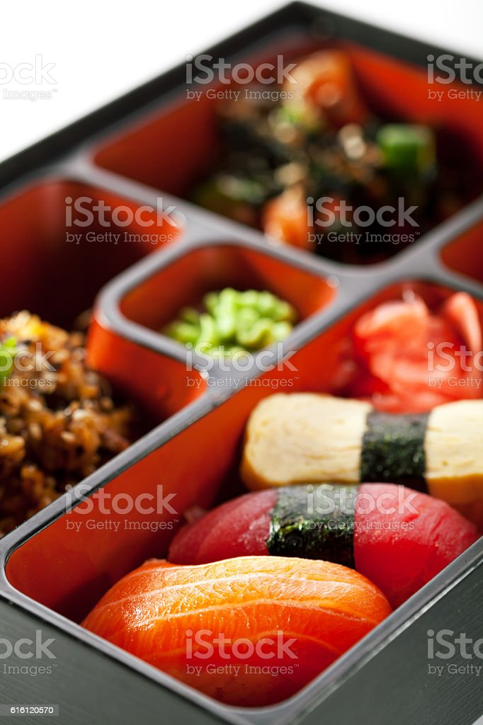 Japanese Bento Lunch stock photo