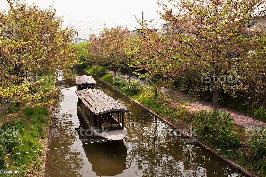japanese boat royalty-free stock photo