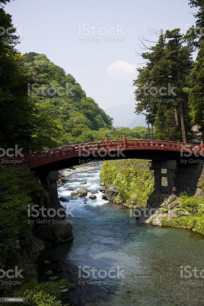 Japanese Bridge stock photo