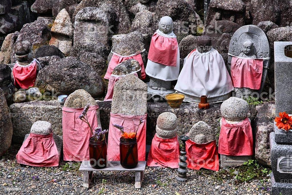 Japanese Buddhism stock photo