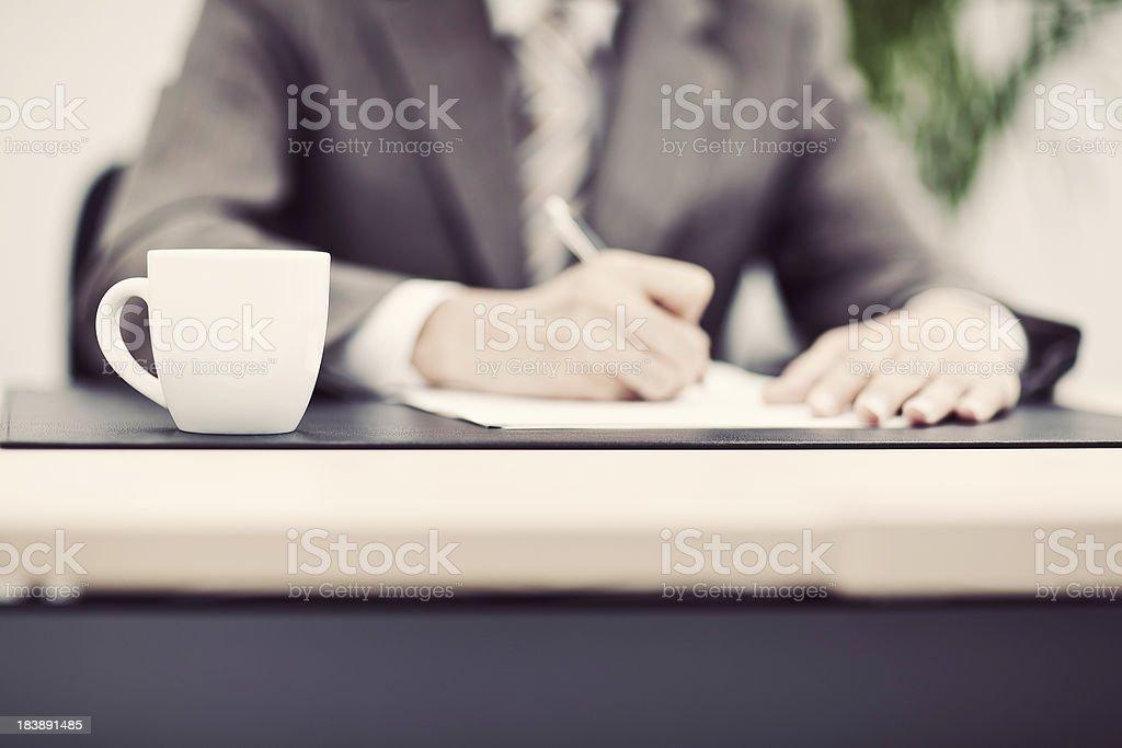 Japanese Business Man stock photo