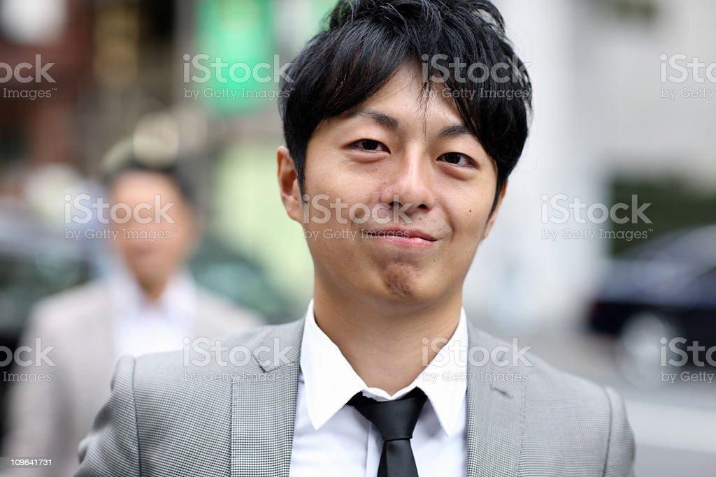 Japanese businessman stock photo