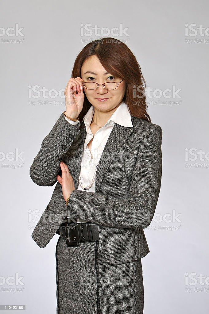 Japanese businesswoman royalty-free stock photo