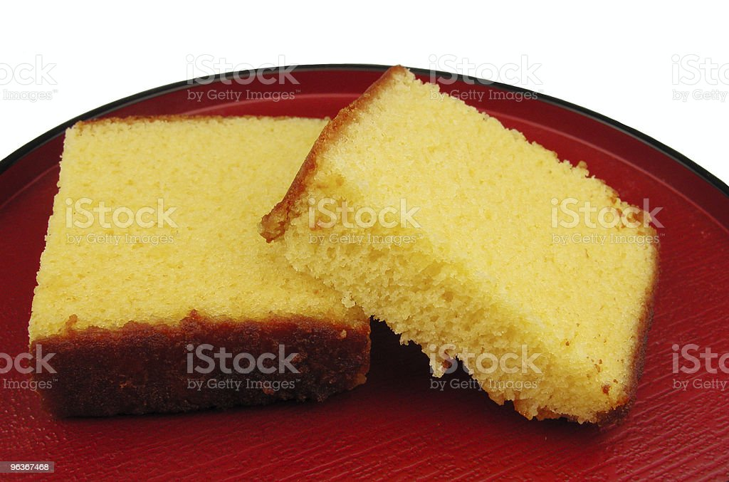 Japanese cake on a plate royalty-free stock photo