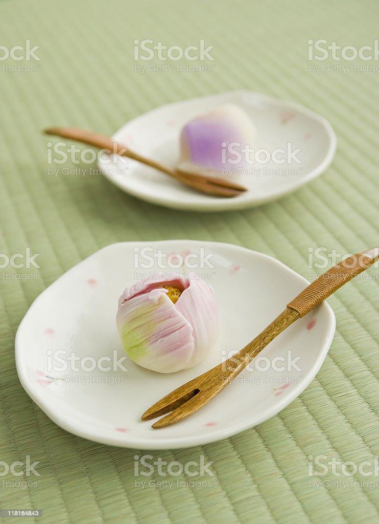 Japanese cake stock photo