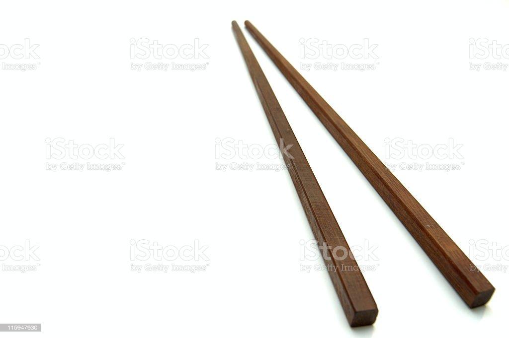 Japanese chopsticks. royalty-free stock photo