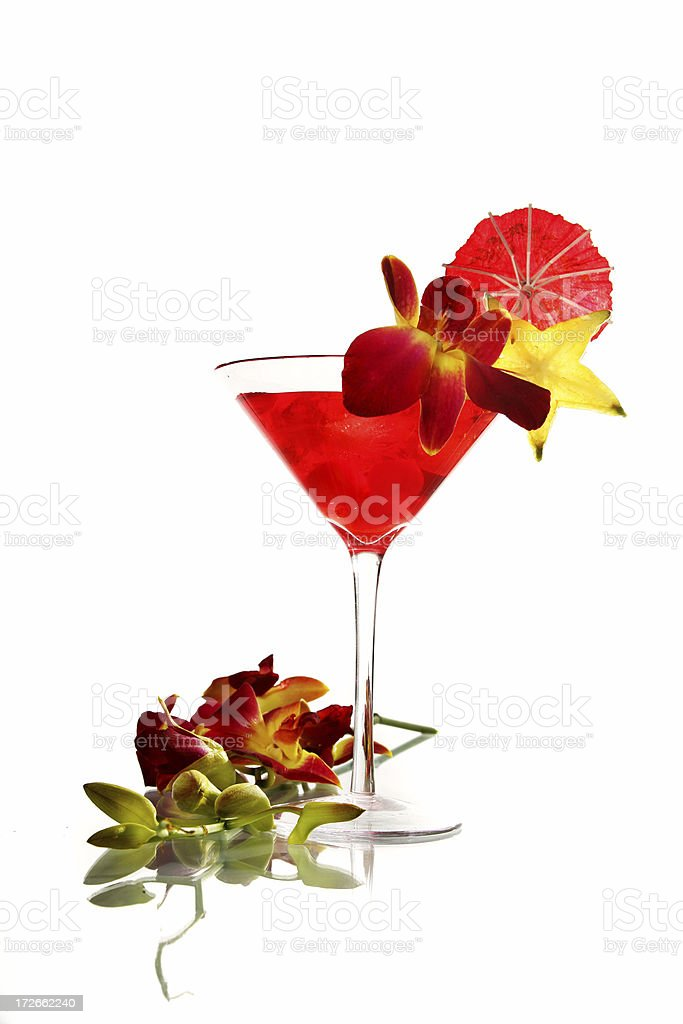 Japanese cocktail royalty-free stock photo